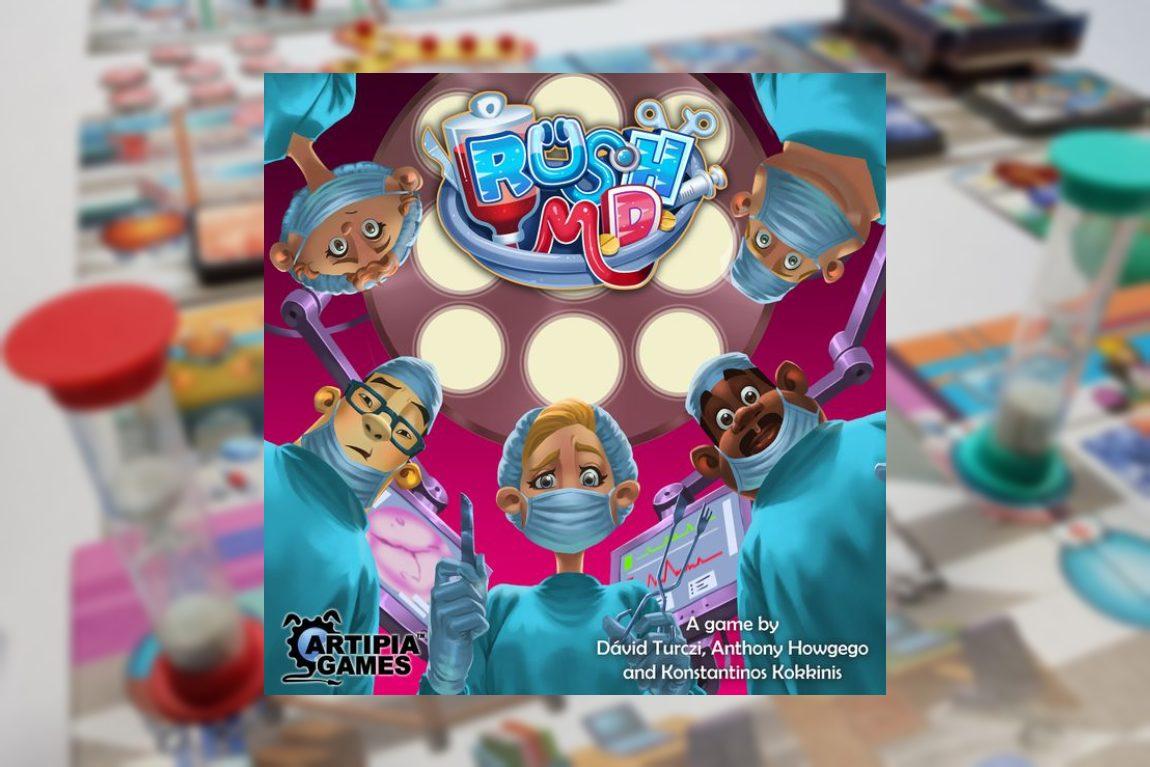 Rush M.D. juego de mesa