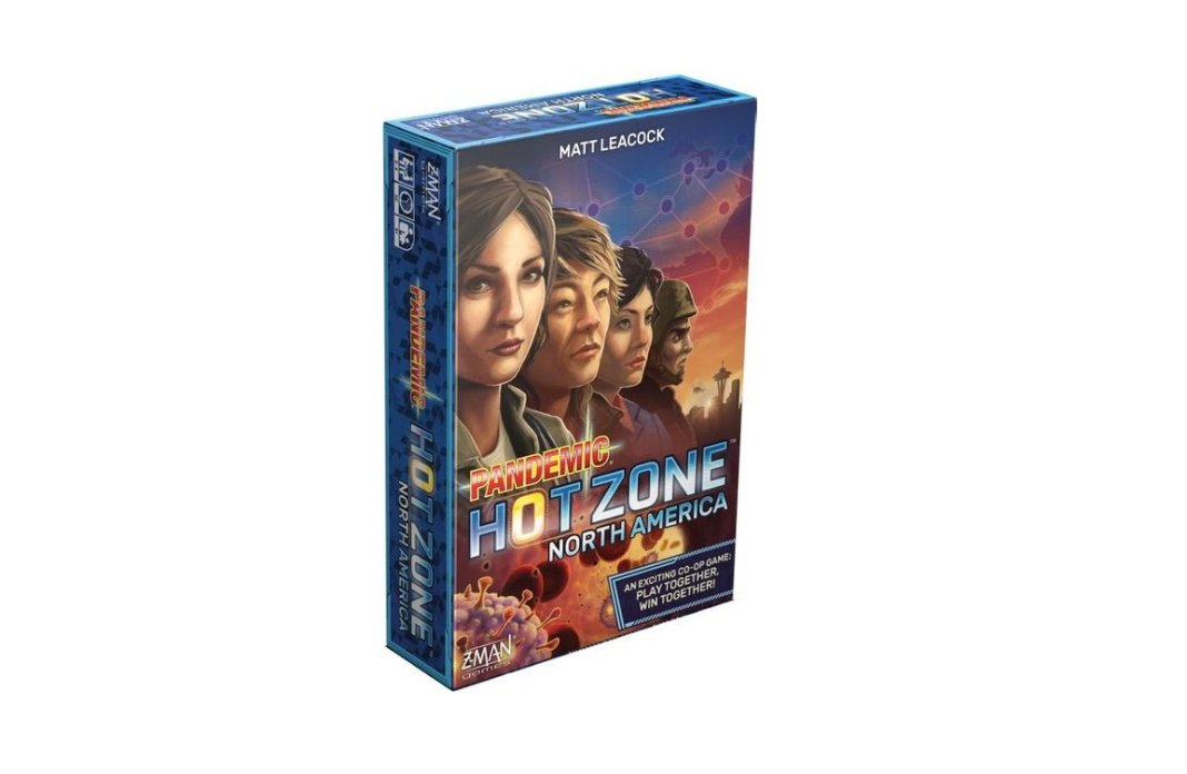 Pandemic Hot Zone juego de mesa