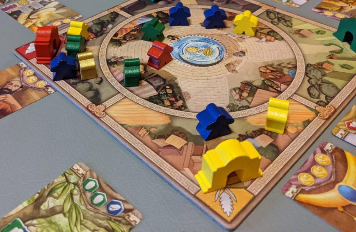 Lions of Lydia juego de mesa