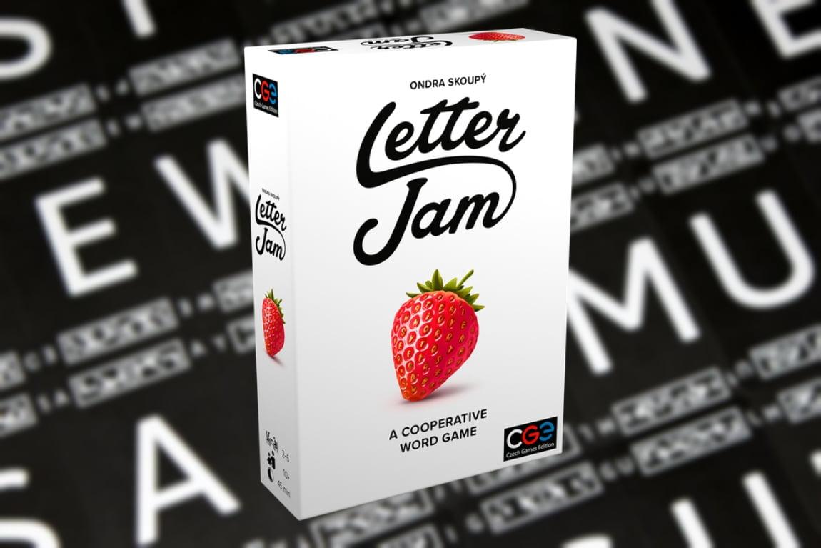letter jam juego de mesa