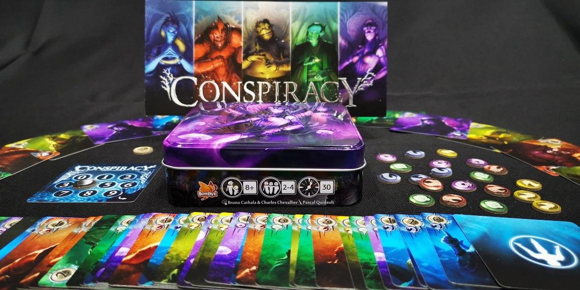 Conspiracy juego de mesa