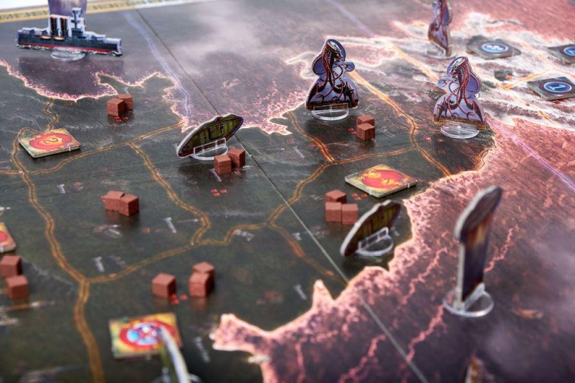 La Guerra de los Mundos juego de mesa