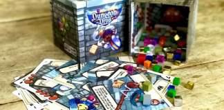 Dungeon Drop juego de mesa