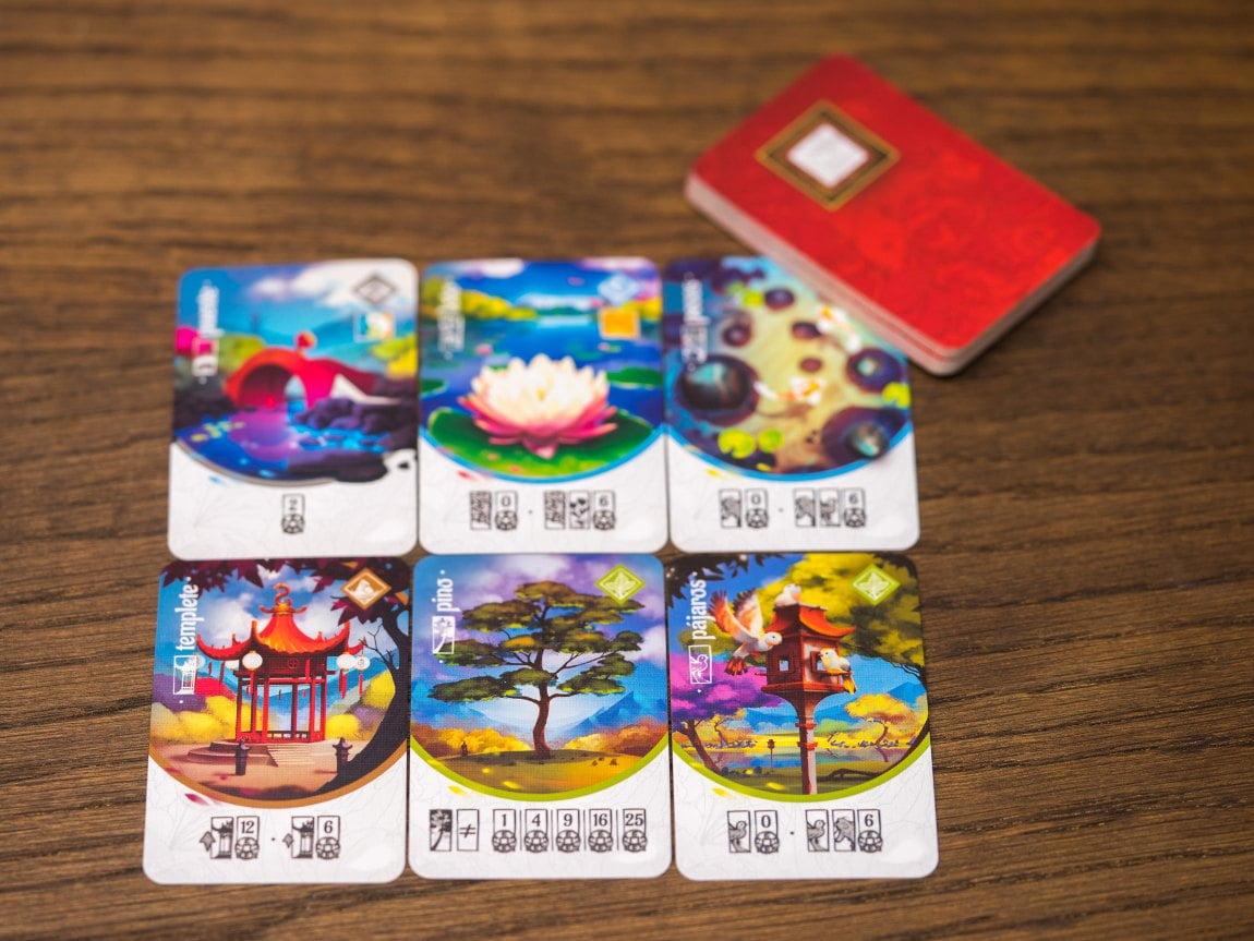 Tang Garden juego de mesa
