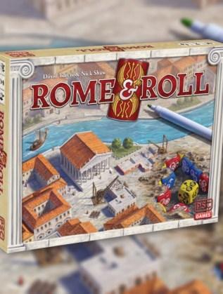 ROME & roll juego de mesa