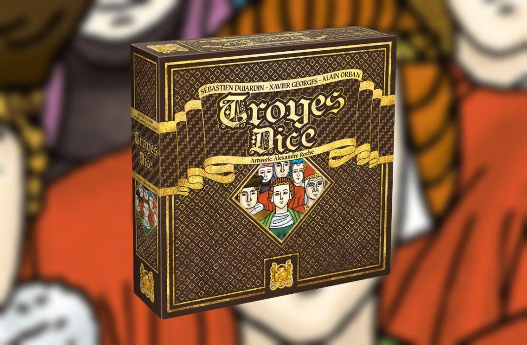 Troyes dice juego de mesa