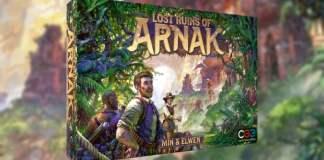 Lost Ruins of arnak juego de mesa