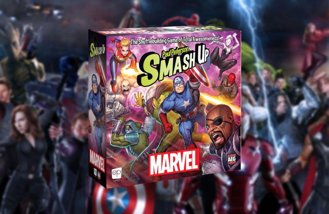 Smash up marvel juego de mesa