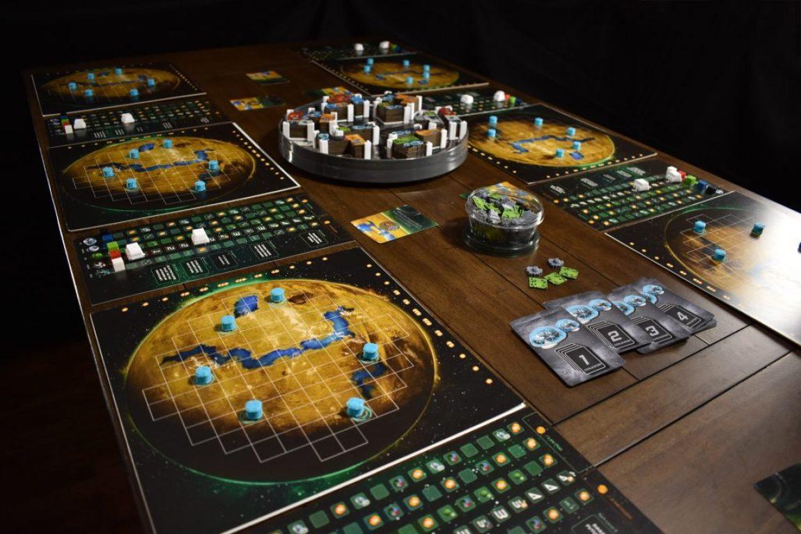 Planet Unknown juego de mesa