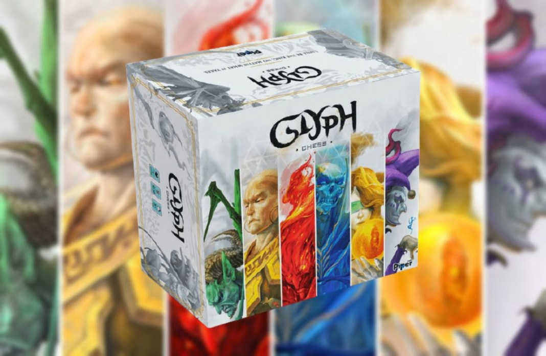 Glyph Chess juego de mesa