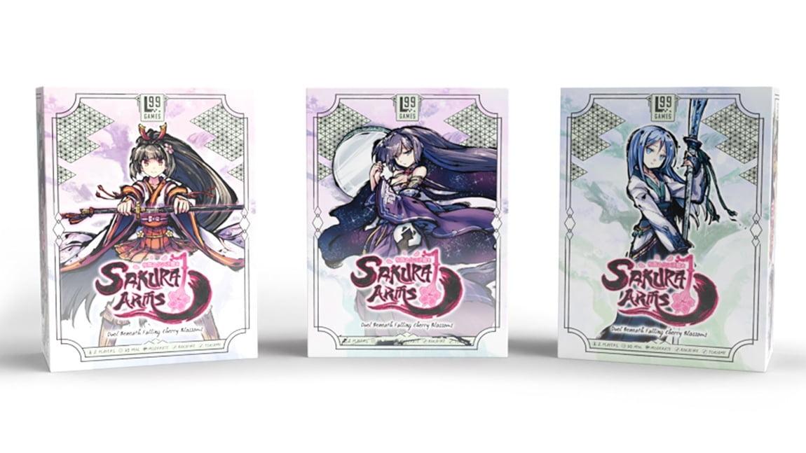 Sakura Arms juego de mesa
