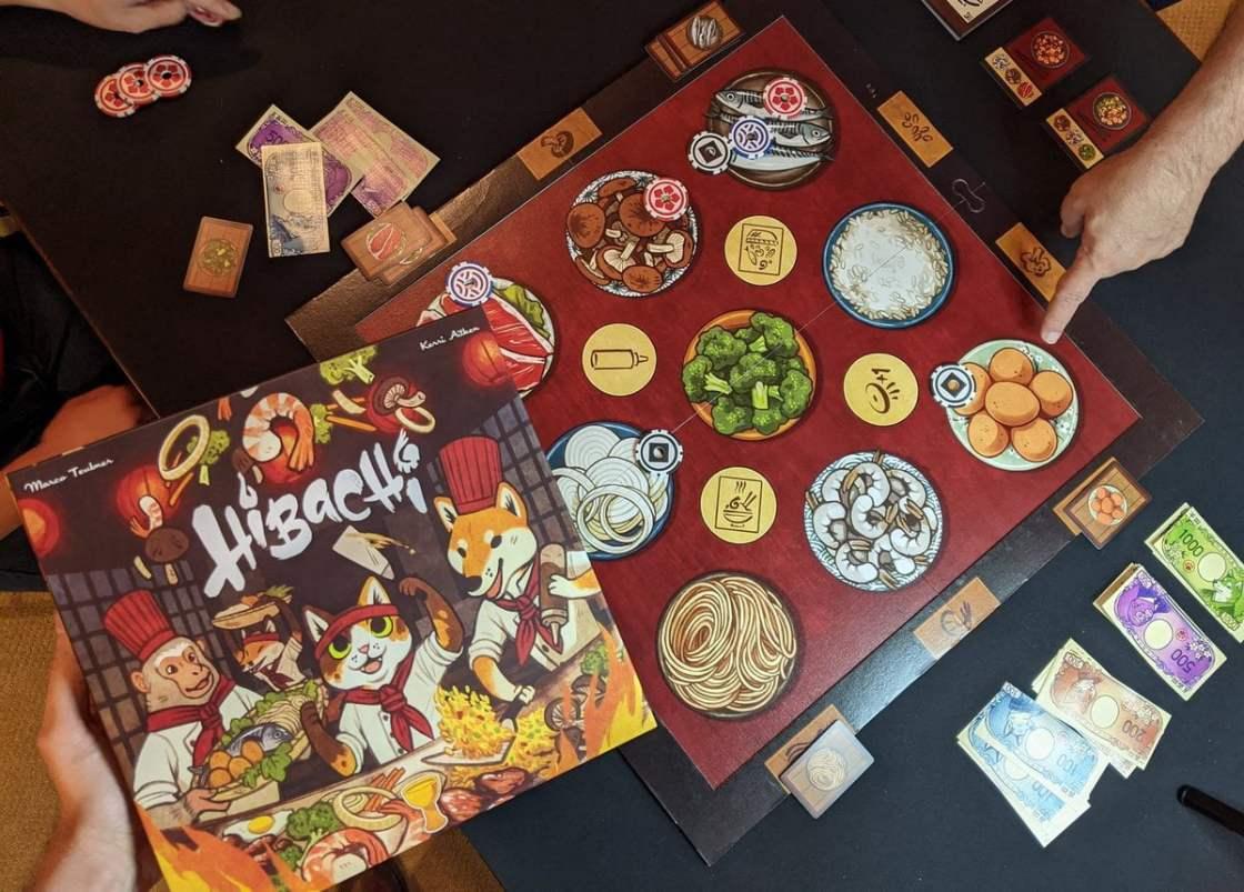 Hibachi juego de mesa