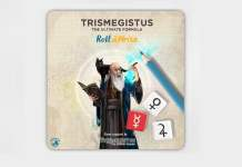 Trismegistus Roll & Write