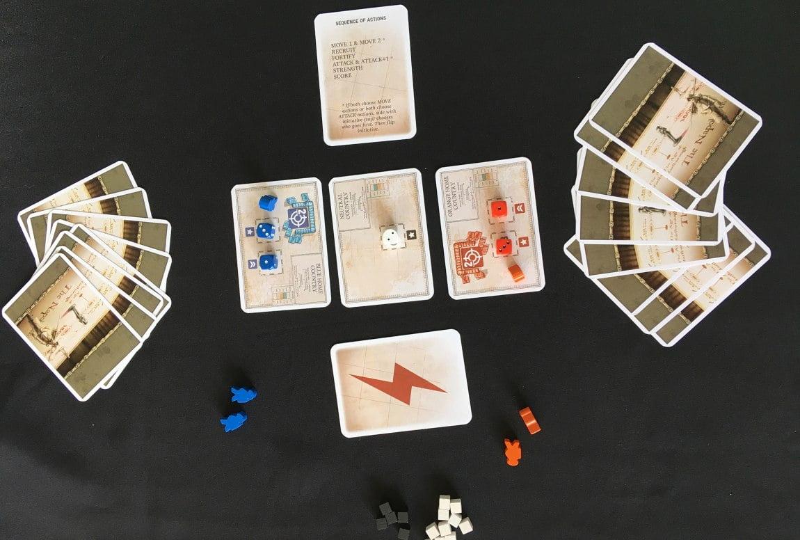 La Marcha del progreso juego de mesa