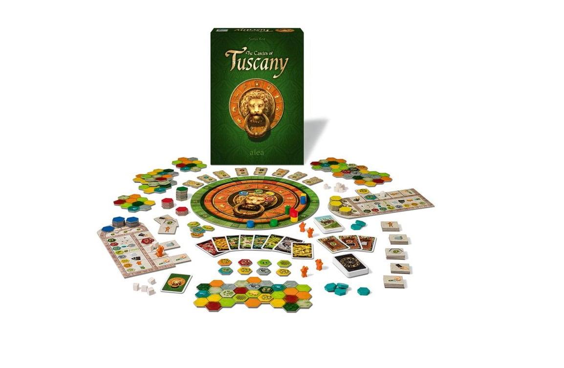 The castle of Tuscany juego de mesa