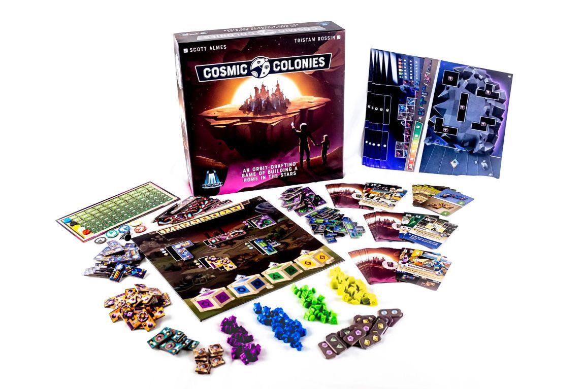 Cosmic Colonies juego de mesa