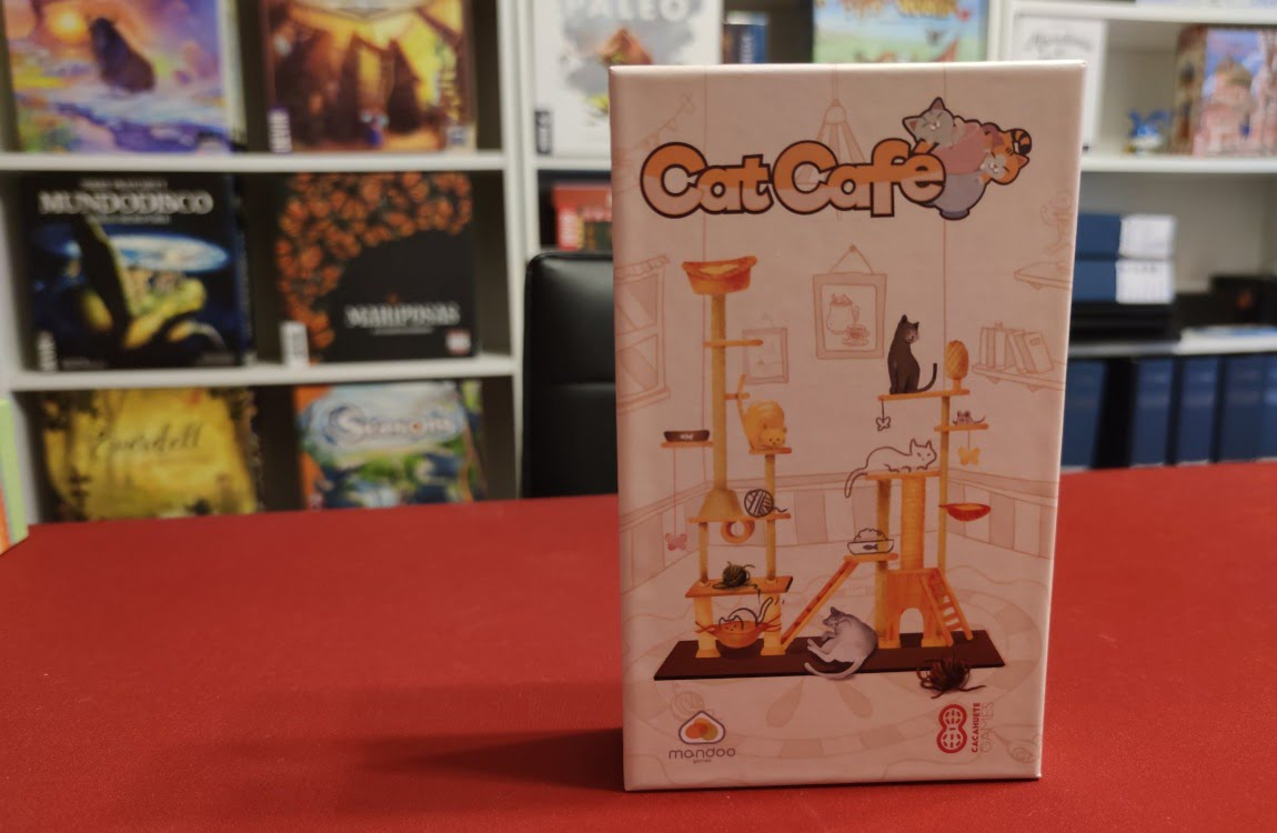 Cat Café juego de mesa