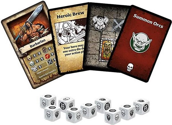 HeroQuest The Card Game