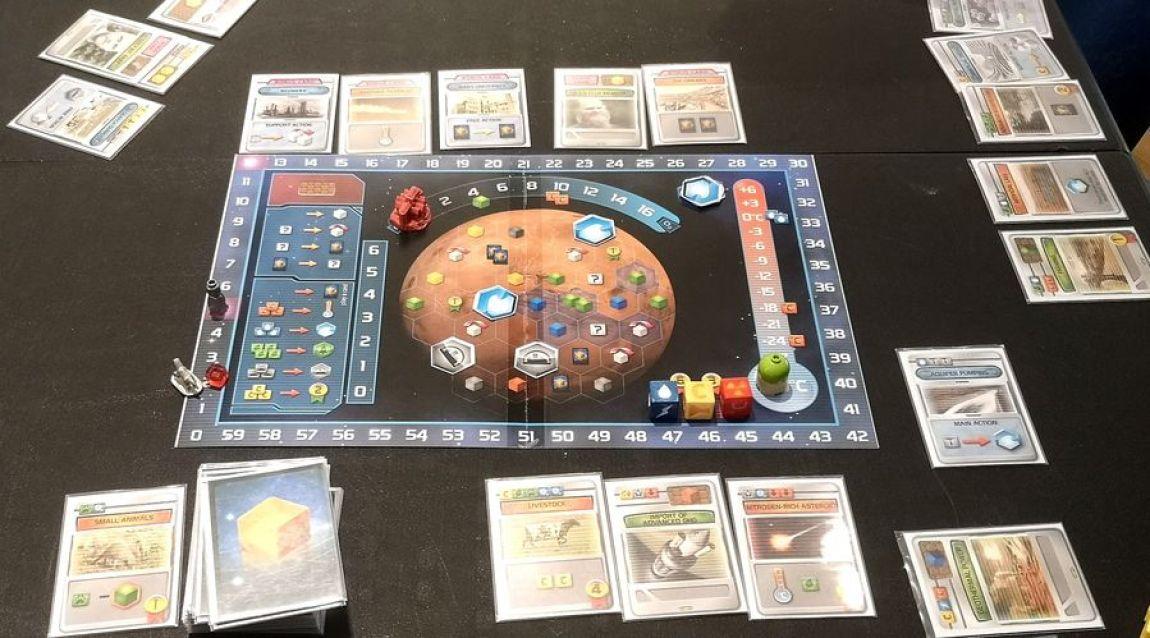 Terraforming Mars Dice Game
