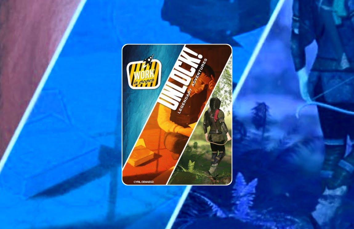 Unlock Legendary adventures juego de mesa