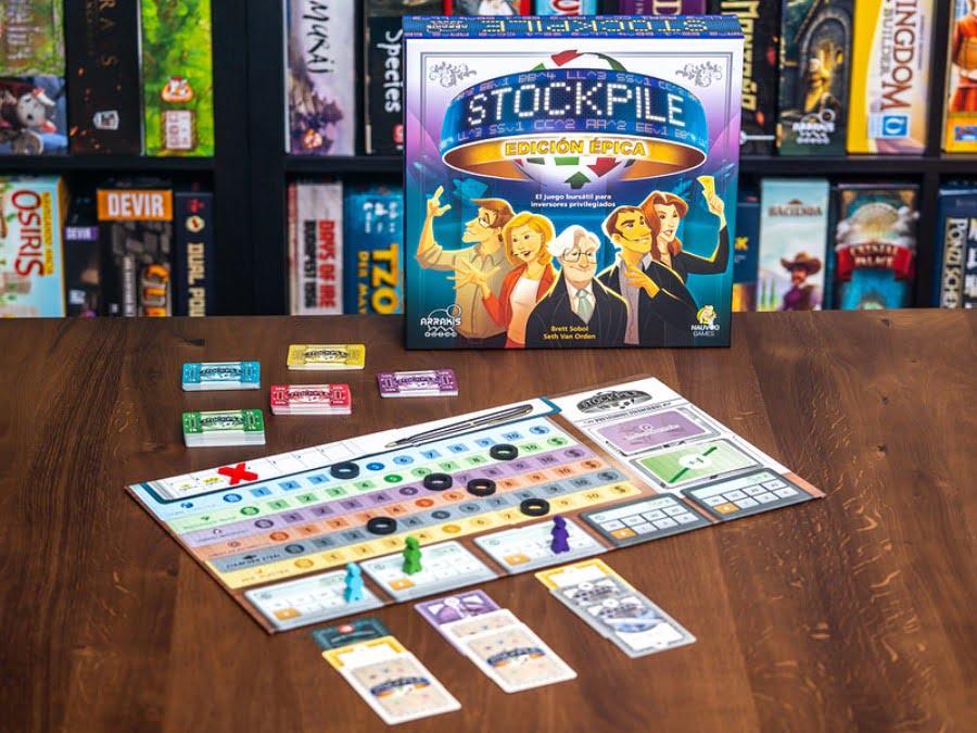 Stockpile juego de mesa