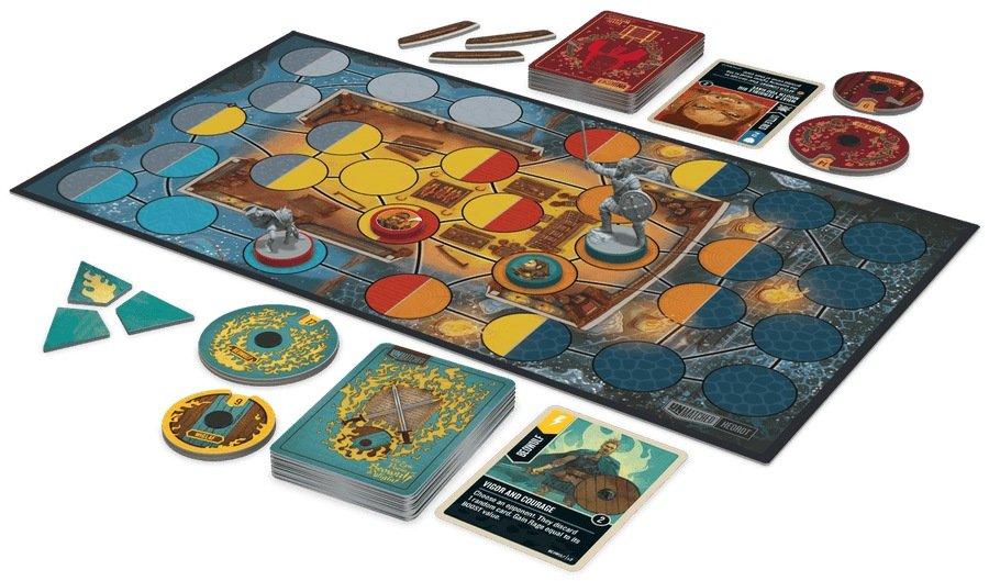 Caperucita Roja vs Beowulf juego de mesa