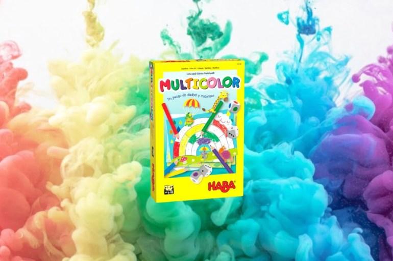 Multicolor juego de mesa