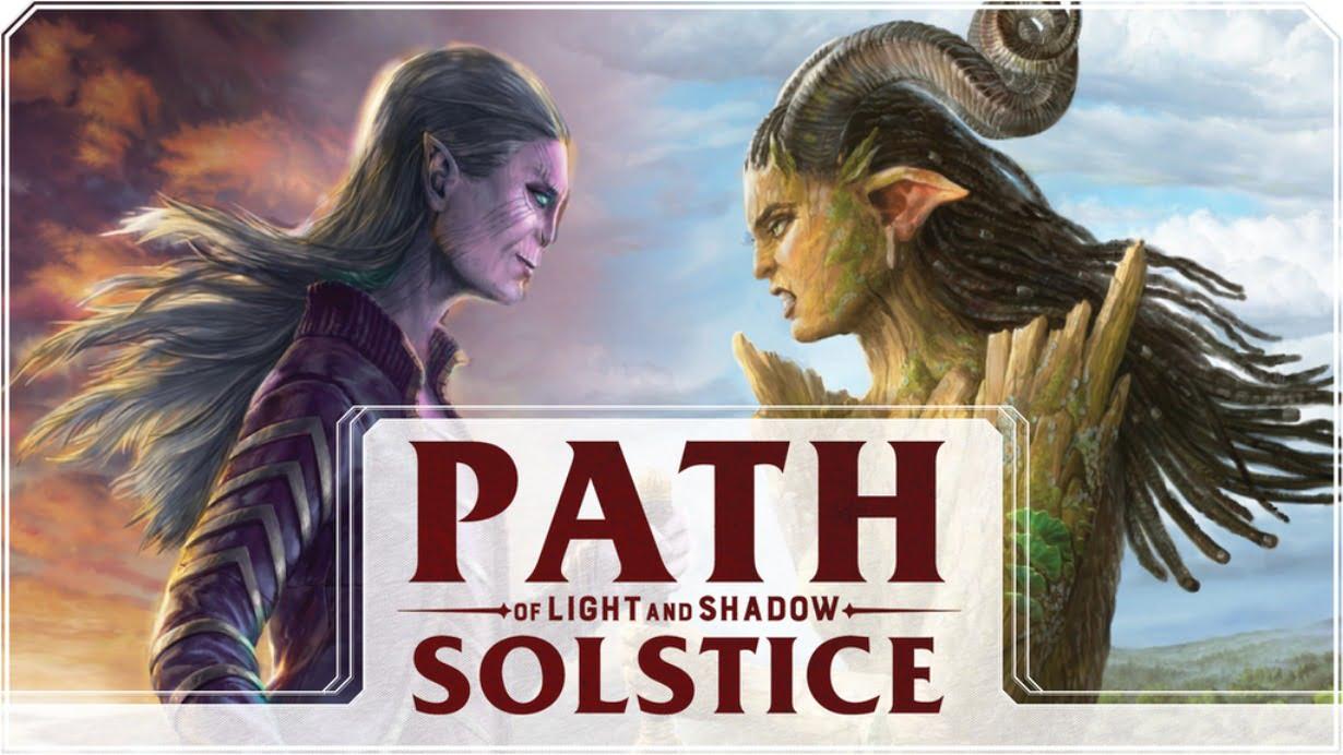 Path of light & shadow juego de mesa