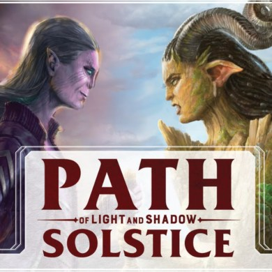 Path of light & shadow juego de mesa