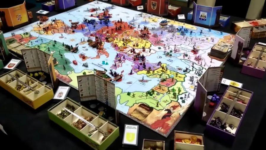 Medievo Universale juego de mesa