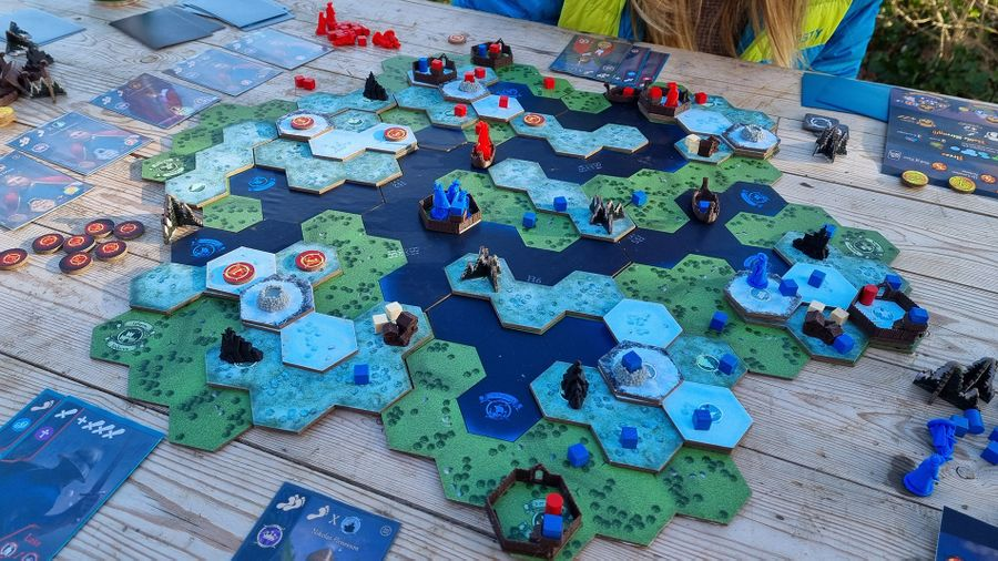 Fjordar juego de mesa
