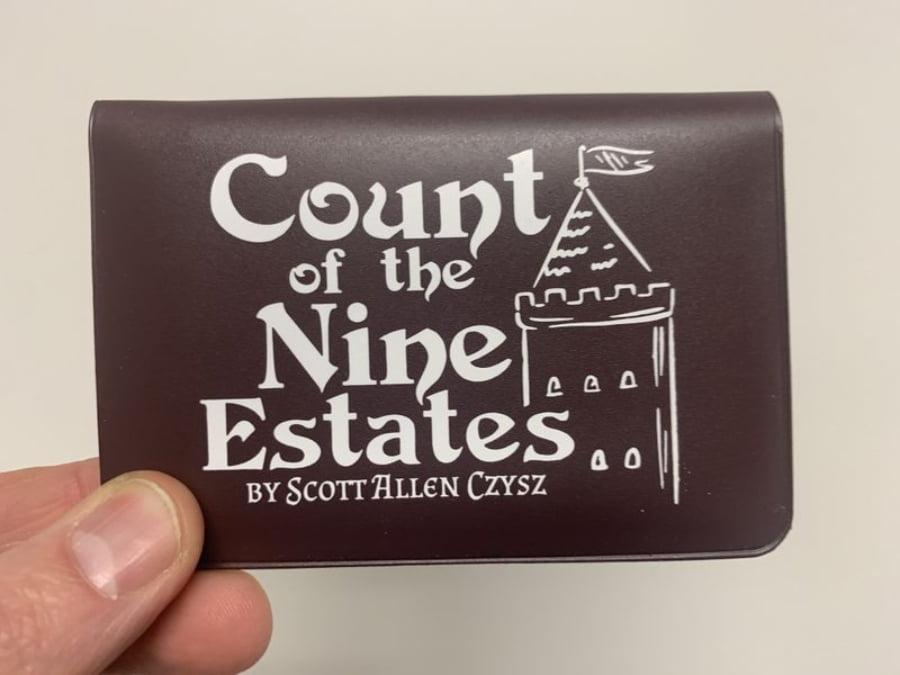 Count of nine states juego de mesa