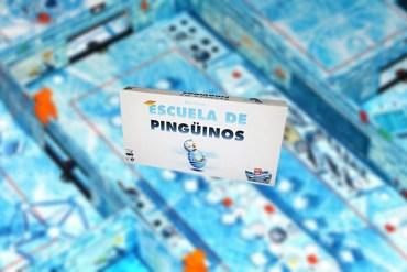 Escuela de Pingüinos juego de mesa