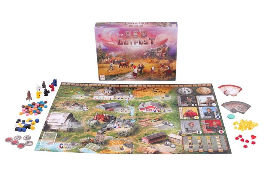 Red Outpost juego de mesa