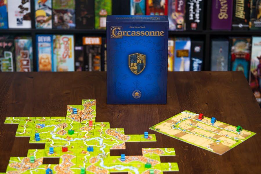 Carcassonne 20º Aniversario juego de mesa