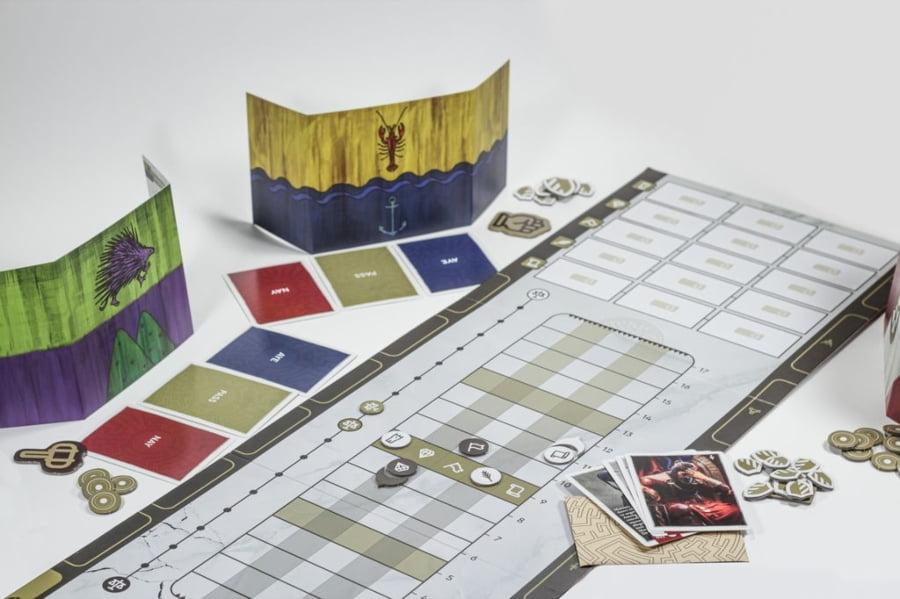 The Queen's Dilemma juego de mesa