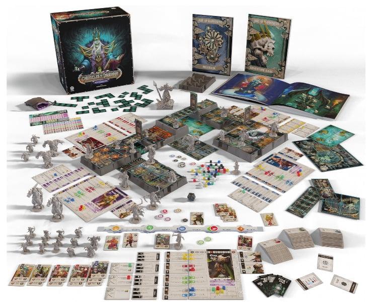Chronicles of Drunagor juego de mesa