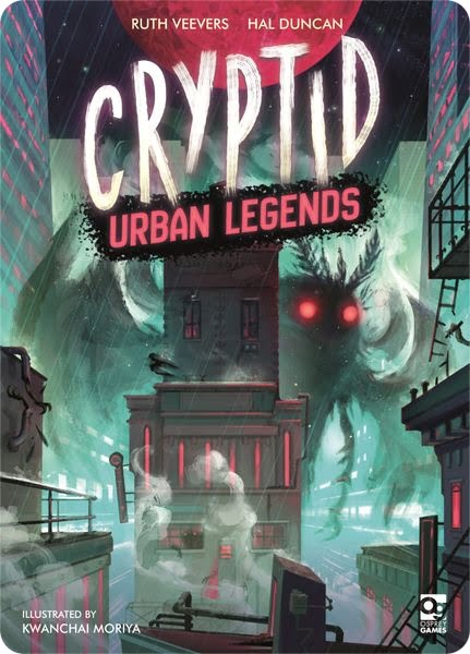 Cryptid Urban legends juego de mesa