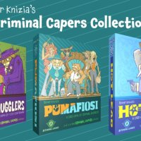Reiner Knizia's Criminal Capers Collection a Kickstarter con Bitewing Games