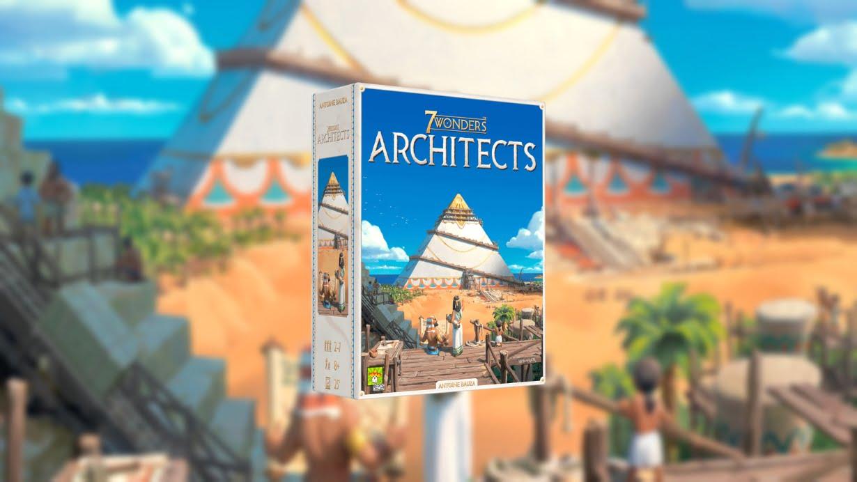 7 Wonders Architects juego de mesa
