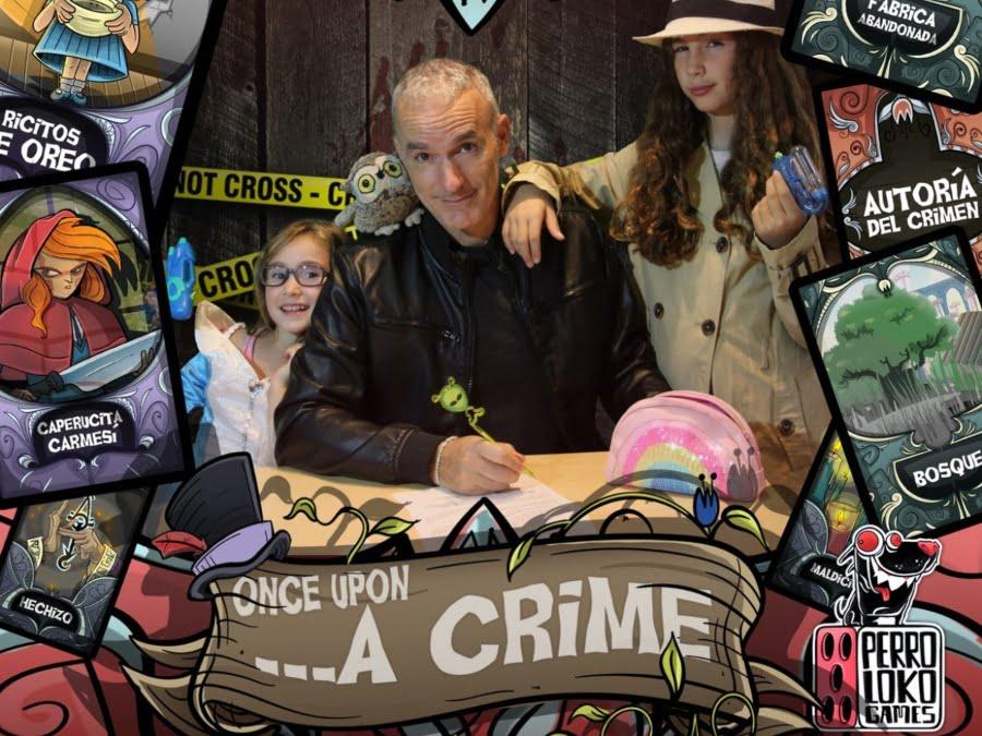Once upon a crime juego de mesa