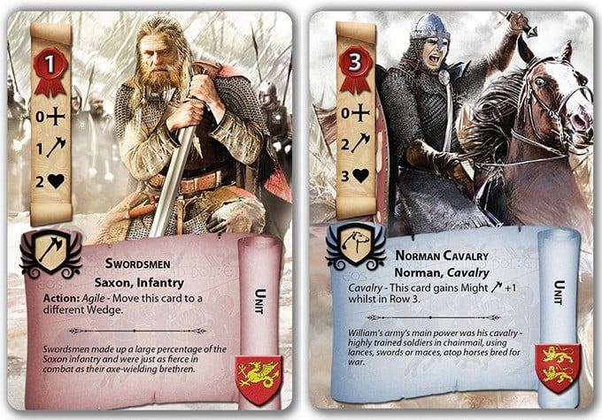 1066 La Batalla de Hastings juego de mesa
