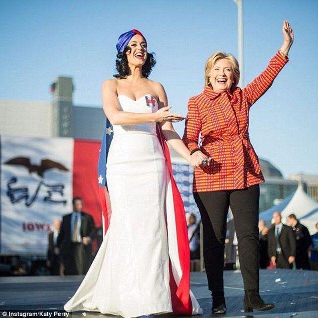 Celebrities en la campaña electoral de Estados Unidos