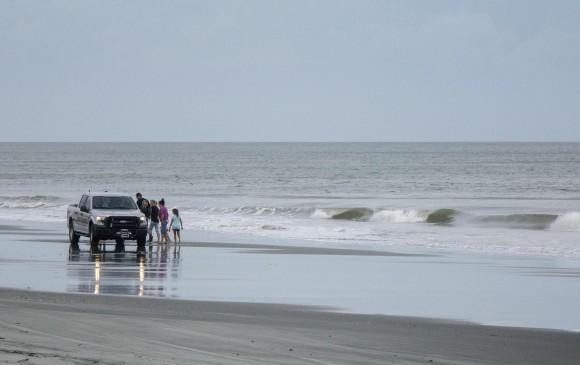 Se prevé que hayan serias inundaciones producto del paso del huracán. FOTO EFE