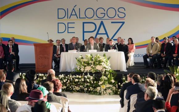 La hacienda Cachampamba, ubicada a 25 kilómetros de la ciudad de Quito, fue el sitio donde se dio inicio a la fase pública de los diálogos de paz entre el Gobierno y el Eln . FOTO AFP