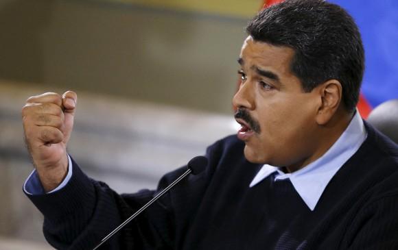 El presidente de Venezuela, Nicolás Maduro, reiteró este lunes que las fronteras con Colombia seguirán cerradas. FOTO REUTERS