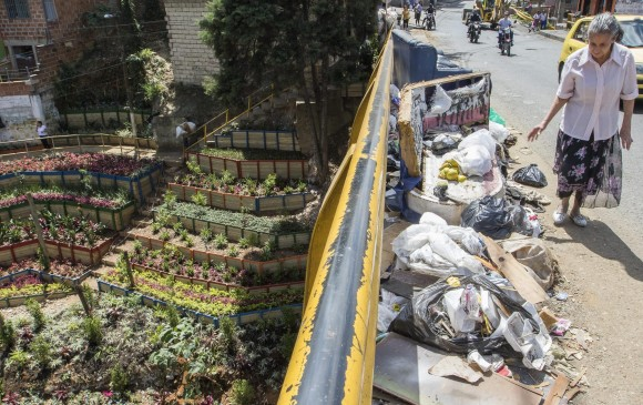 Medellín transformó 135 basureros en jardines