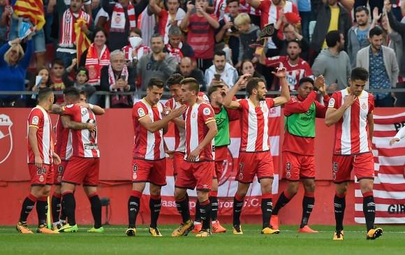 Image result for Ganó, remontando, por 2-1 el Girona