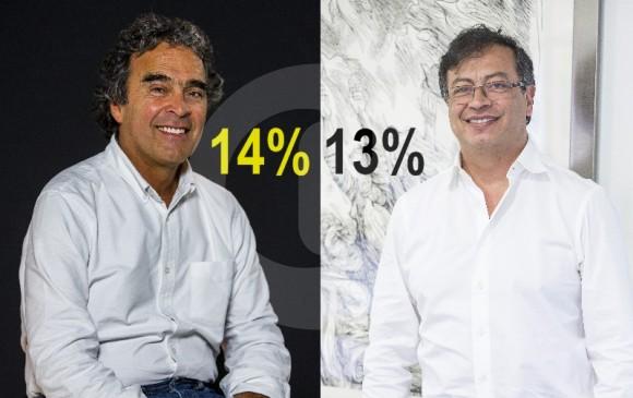 Sergio Fajardo y Gustavo Petro. FOTOS ARCHIVO EL COLOMBIANO