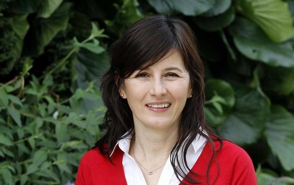 Mónica Pérez Ayala trabajó en Proexport (ahora Procolombia) y en la Asociación Hotelera y Turística de Colombia (Cotelco). Ahora es directora ejecutiva de la Fundación EPM. FOTO Donaldo Zuluaga
